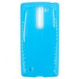 Чехлы - Силиконовый чехол для LG Magna H502/G4C (голубой), 0
