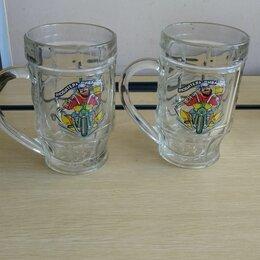 Бокалы и стаканы - Кружки для Пива и Кваса 2шт, 0