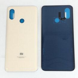 Корпусные детали - Задняя крышка для Xiaomi Mi 8 золотая, 0