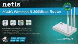 Оборудование Wi-Fi и Bluetooth - Netis MW5230 поддерживаемых 3G 4G модемов, 0