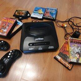 Ретро-консоли и электронные игры - Sega Retro Genesis Modern Wireless (170 игр + картриджи), 0