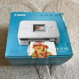 Принтеры и МФУ - Фотопринтер Canon Selphy CP740, 0