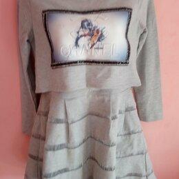 Платья и сарафаны - Платье Стрейч На Прохладную Погоду , 0