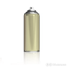 Краска аэрозольная бежевый (1014) по цене 400₽ - Краски, фото 0