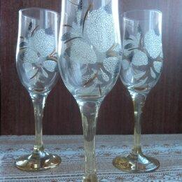 Бокалы и стаканы - бокалы фужеры , 0