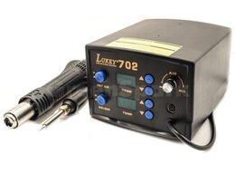 Электрические паяльники - Термовоздушная паяльная станция Lukey 702, 0