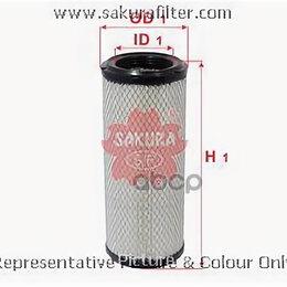 Аксессуары и запчасти - Фильтр Воздушный A8505  A8505Sakura, 0