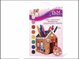 Раскраски и роспись - Docha&Mama 35608 Набор для лепки Пряничный домик, 0