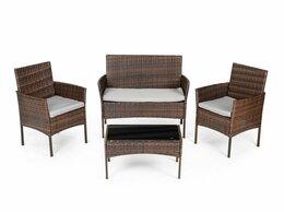 Комплекты садовой мебели - Комплект садовой мебели, стол, 2 кресла,…, 0