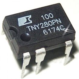 Радиодетали и электронные компоненты - TNY280PN, ШИМ-контроллер Low Power Off-line…, 0