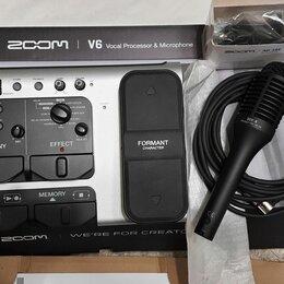 Оборудование для звукозаписывающих студий - Zoom v6 вокальный процессор, 0