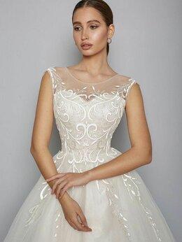 Платья - Свадебное платье со светоотражающим кружевом…, 0