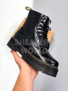 Ботинки - Dr Martens лаковые с мехом, 0