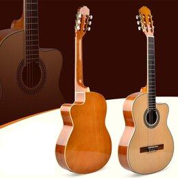 Акустические и классические гитары - Solista L-320-39 Гитара классическая, корпус 4/4 с вырезом, цвет натуральный, 0