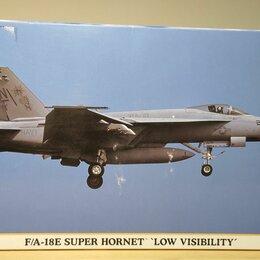 Сборные модели - F/A-18E super hornet 1/72 Hasegawa 00829, 0