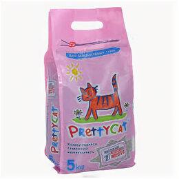 Наполнители для туалетов - Напол-ль древесный PRETTY CAT WOOD GRANULES 4кг/ 12л , 0