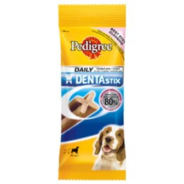 Корма  - Pedigree Denta Stix для собак средних пород 7 пал., 0