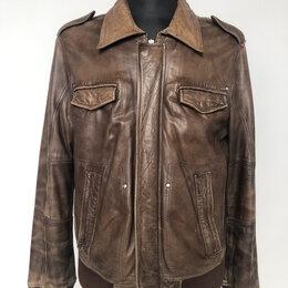 Куртки - Куртка мужская натуральная кожа р.50-52 /11067/, 0