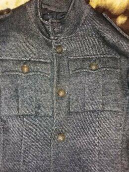 Пальто - Пальто мужское тёмно серого цвета.46-48р, 0