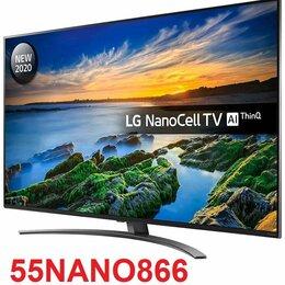 """Телевизоры - 55"""" 4K IPS Smart TV NanoCell LG 55nano866 / 120Гц, 0"""