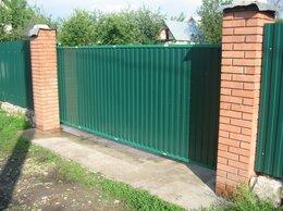 Заборы и ворота - Подвесные откатные ворота на проем до 4 метров, 0