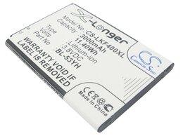 Аккумуляторы - Аккумулятор CS-LKF400XL BL-53YH для LG G3 Stylus…, 0