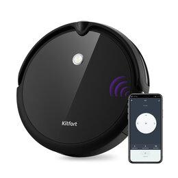 Роботы-пылесосы - Робот-пылесос KITFORT KT-590 , 0