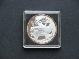 Монеты - Новая Зеландия. Серебро. 2009 Южный кит, 0
