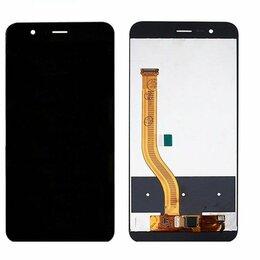 Дисплеи и тачскрины - Дисплей Huawei Honor 8 Pro/Honor V9 модуль Черный, 0