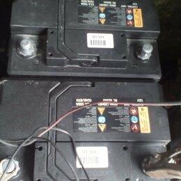 Аккумуляторы и комплектующие - аккумулятор 60ач бу, 0