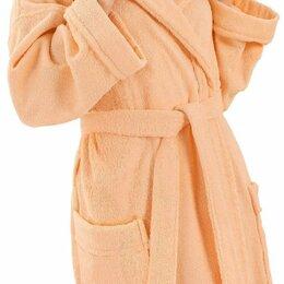 Домашняя одежда - Халат женский махровый, шалька (ЭЛИТ) 028-Персиковый размер 56, 0