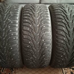 Шины, диски и комплектующие - Зимние шины 3шт Yokohama Ice Guard Stud, 0