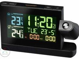 Метеостанции, термометры, барометры - Метеостанция BRESSER Часы проекционные с цветным…, 0