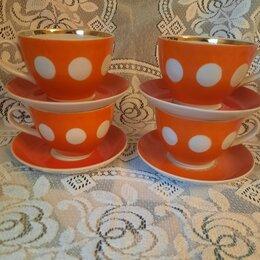 Посуда - Чайные пары СССР Большие, 0