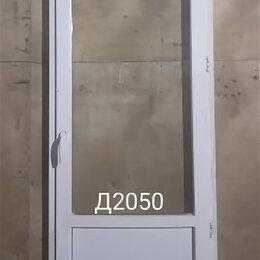 Готовые конструкции - Дверь пластиковая балконная (б/у) 2240(в)х800(ш), 0