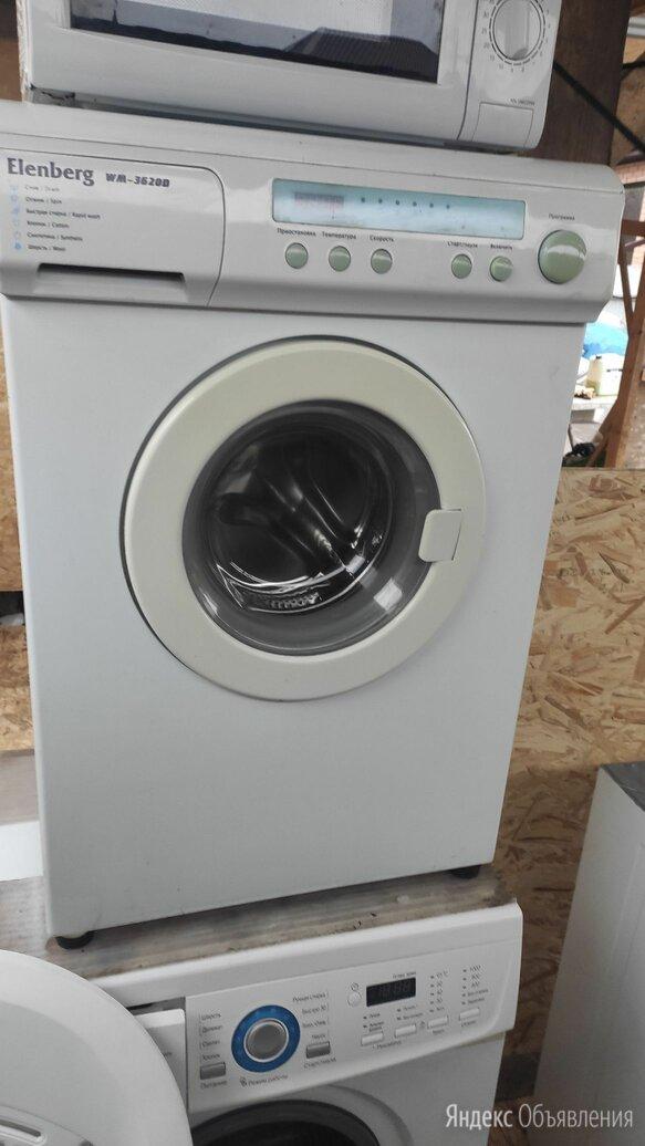 Машинка стиральная эленберг wm-3620d по цене 5999₽ - Стиральные машины, фото 0
