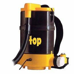 Профессиональные пылесосы - 🔥 Ранцевый пылесос IPC Soteco Top, 0