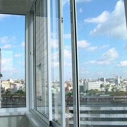 Готовые конструкции - Раздвижной стеклопакет с новостройки (алюминиевый профиль), 0