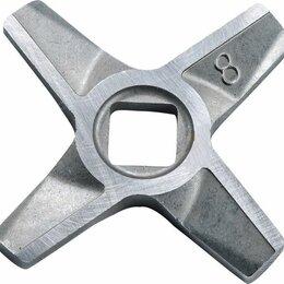 Запчасти и расходные материалы - Нож мясорубки Zelmer двухсторонний №8 A86.3109,…, 0