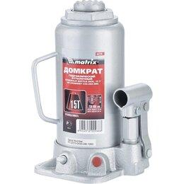 Подъемник и комплектующие - Домкрат гидравлический бутылочный, 15 т, h…, 0