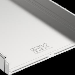 Кабеленесущие системы - Лоток неперфорированный 80х400х3000 IEK (кр.3м), 0