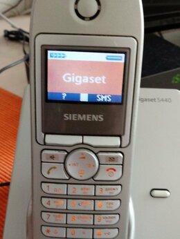 Радиотелефоны - Радиотелефон simens S 440 с двумя трубками, 0