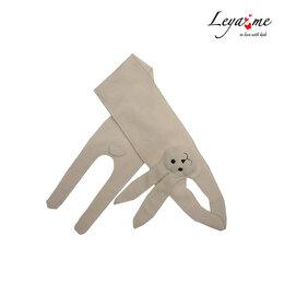 Шарфы - Серый детский шарф в виде зайчика, 0