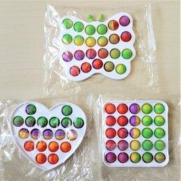 Игрушки-антистресс - Вечная пупырка Pop it, Simple Dimple пластик (в ассортименте), 0