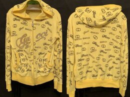 Толстовки - Толстовка женская Gucci жёлтого цвета Гуччи, 0