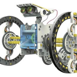 Роботы и трансформеры - Набор для опытов «Робот», 14 в 1, работает от солнечной батареи, 0