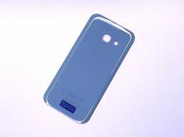 Корпусные детали - Задняя крышка SAMSUNG Galaxy A3 2017 (A320F) Blue, 0