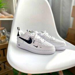 Кроссовки и кеды - Nike air force 1 white, 0