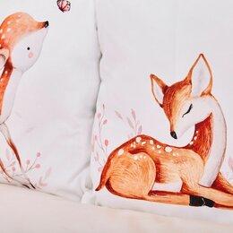 Покрывала, подушки, одеяла - Комплект белья в детскую кроватку Топотушки олененок , 0