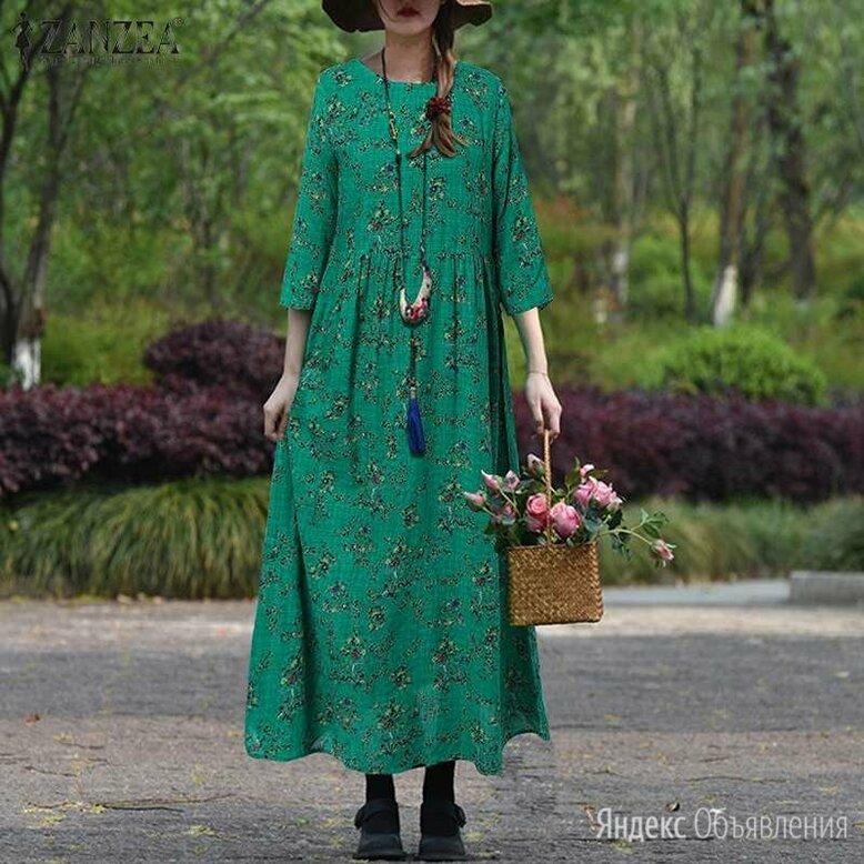 платье новое хлопок р.54 по цене 3000₽ - Платья, фото 0
